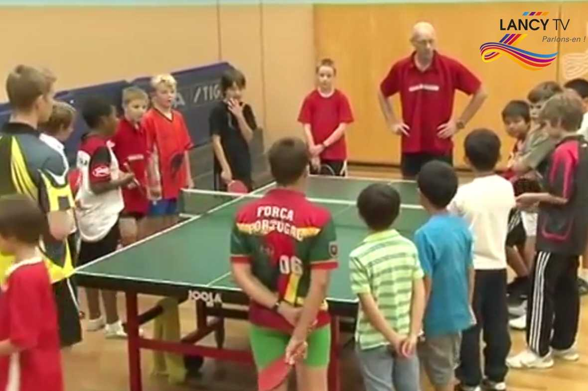 Reportage Lancy TV septembre 2010 - Tuttisports Tennis de table