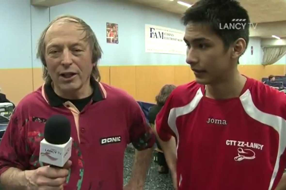 Reportage Lancy TV mars 2011 - Tournoi de la Ville de Lancy