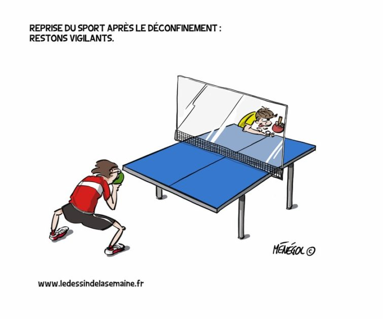 Tennis de table et Covid-19
